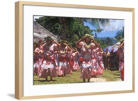 Tiare Tahiti Day, Papeete, Tahiti--Framed Art Print