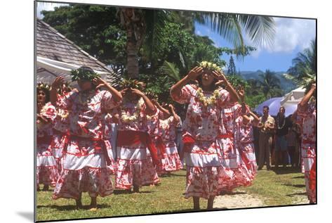 Tiare Tahiti Day, Papeete, Tahiti--Mounted Photographic Print