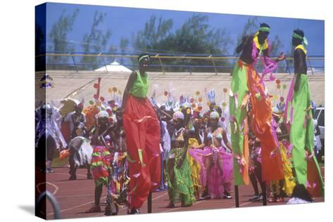 Crop over Celebration, Barbados, Caribbean--Stretched Canvas Print