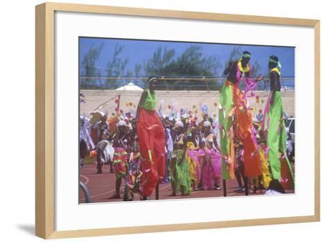Crop over Celebration, Barbados, Caribbean--Framed Art Print