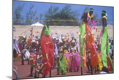 Crop over Celebration, Barbados, Caribbean--Mounted Photographic Print