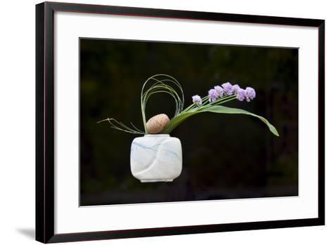 Ikebana, the Art of Flower Arrangement--Framed Art Print