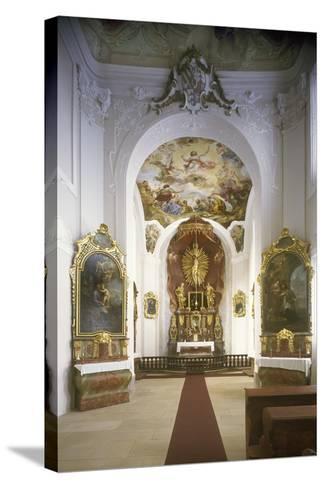 Chapel of St. Joseph, Jemništ? Château--Stretched Canvas Print