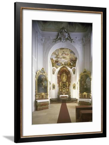 Chapel of St. Joseph, Jemništ? Château--Framed Art Print