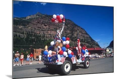 Parade, July 4th, Ouray, Colorado--Mounted Photographic Print
