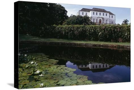 Rose Hall, Jamaica--Stretched Canvas Print