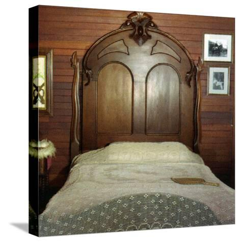 Fanny's Bedroom, Villa Vailima, Apia, Samoa--Stretched Canvas Print