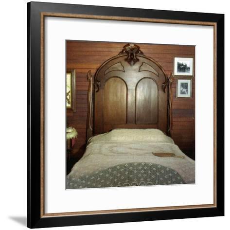Fanny's Bedroom, Villa Vailima, Apia, Samoa--Framed Art Print