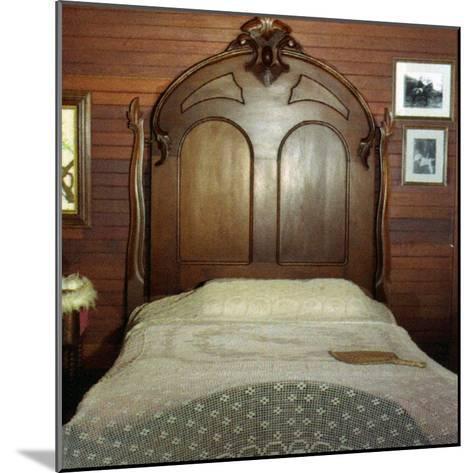 Fanny's Bedroom, Villa Vailima, Apia, Samoa--Mounted Photographic Print