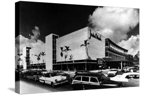 Jordan Marsh Department Store, C.1962--Stretched Canvas Print