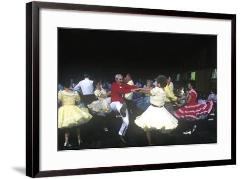 Square Dance Jamboree, Renfro Valley, Kentucky--Framed Art Print
