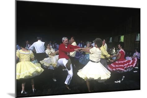 Square Dance Jamboree, Renfro Valley, Kentucky--Mounted Photographic Print
