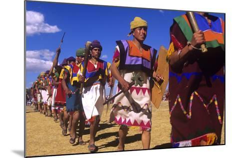 Inti Raymi, Incan Celebration, Cusco, Peru--Mounted Photographic Print