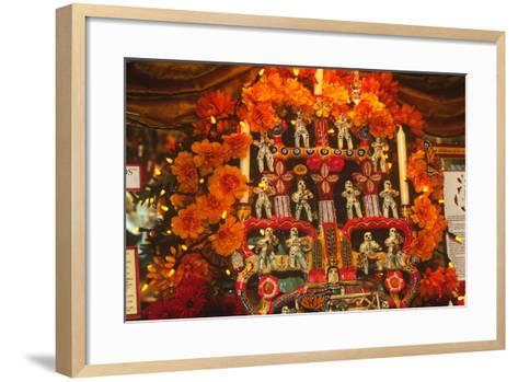 Display, Day of the Dead, Tucson, Arizona--Framed Art Print