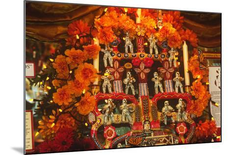 Display, Day of the Dead, Tucson, Arizona--Mounted Photographic Print