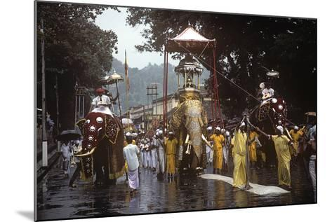 Esala Perahera Festival, Kandy, Sri Lanka--Mounted Photographic Print