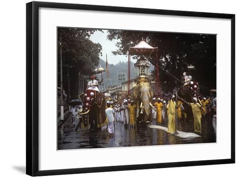Esala Perahera Festival, Kandy, Sri Lanka--Framed Art Print