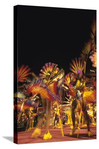 Carnival, Kingstown, St. Vincent--Stretched Canvas Print