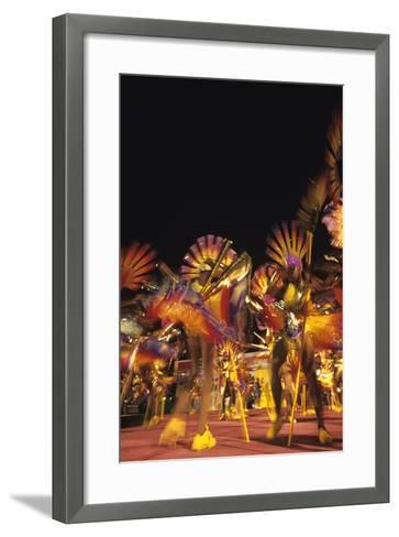Carnival, Kingstown, St. Vincent--Framed Art Print
