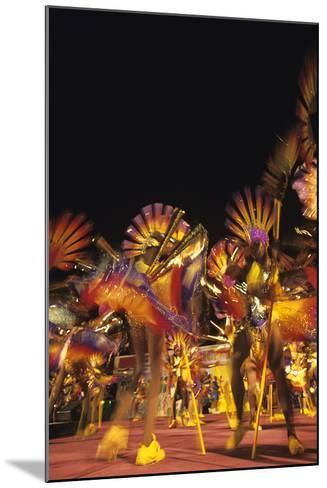 Carnival, Kingstown, St. Vincent--Mounted Photographic Print