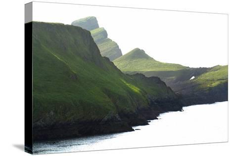 Worm's Head, Gower, S.Wales, UK--Stretched Canvas Print