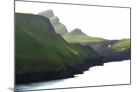 Worm's Head, Gower, S.Wales, UK--Mounted Photographic Print