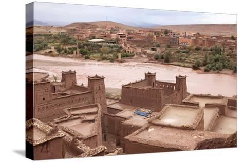 Ksar of Ait-Ben-Haddou, Morocco--Stretched Canvas Print