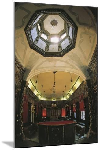 Interior of the Italian Synagogue, Venice--Mounted Photographic Print