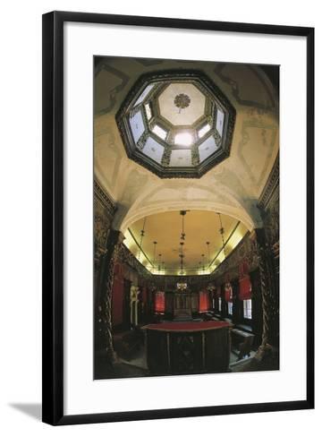Interior of the Italian Synagogue, Venice--Framed Art Print
