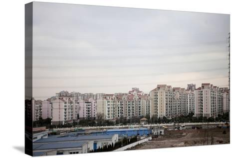 Between Shanghai and Hangzhou, China--Stretched Canvas Print