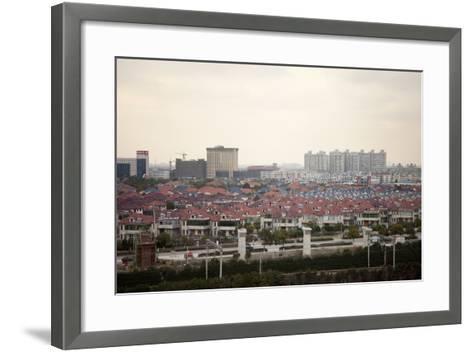 Between Shanghai and Hangzhou, China--Framed Art Print