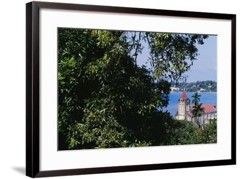 Christ Church, Port Antonio, Jamaica--Framed Art Print