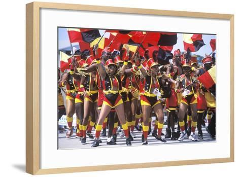 Crop over Celebration, Barbados--Framed Art Print