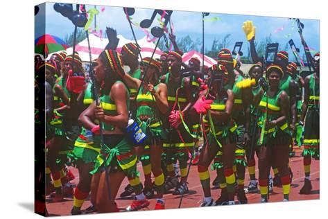 Crop over Celebration, Barbados--Stretched Canvas Print