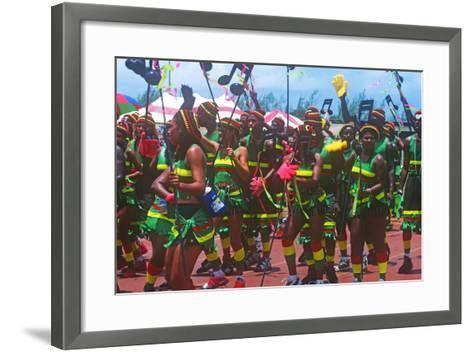 Crop over Celebration, Barbados--Framed Art Print