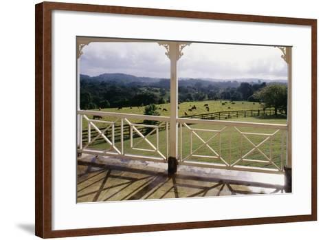 A Glimpse of England', Jamaica--Framed Art Print