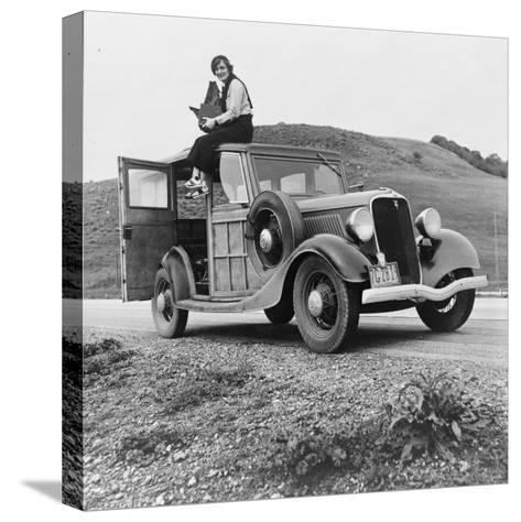 Dorothea Lange, Resettlement Administration Photographer, 1936--Stretched Canvas Print