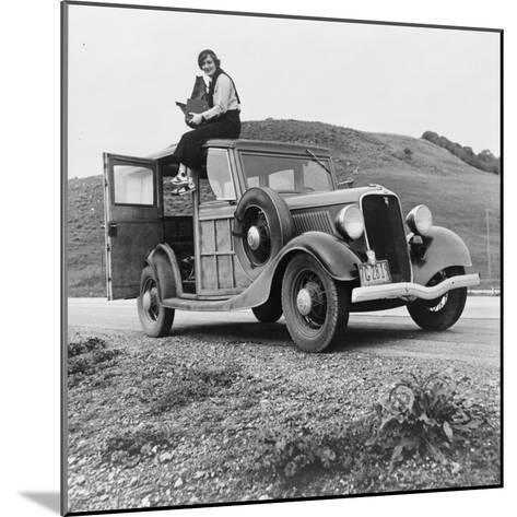 Dorothea Lange, Resettlement Administration Photographer, 1936--Mounted Photographic Print