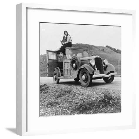 Dorothea Lange, Resettlement Administration Photographer, 1936--Framed Art Print