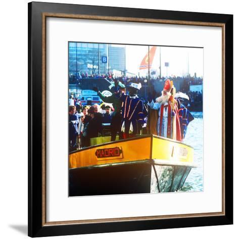 Sinterklaas Procession, Amsterdam, Holland--Framed Art Print