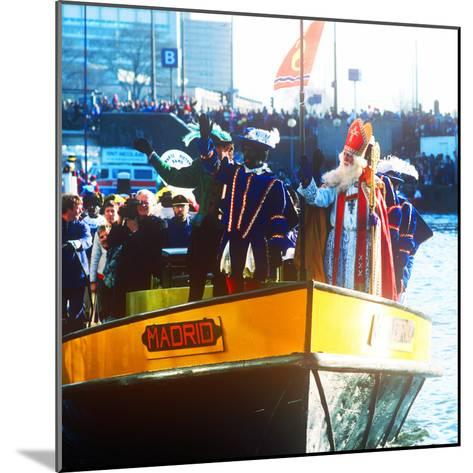 Sinterklaas Procession, Amsterdam, Holland--Mounted Photographic Print