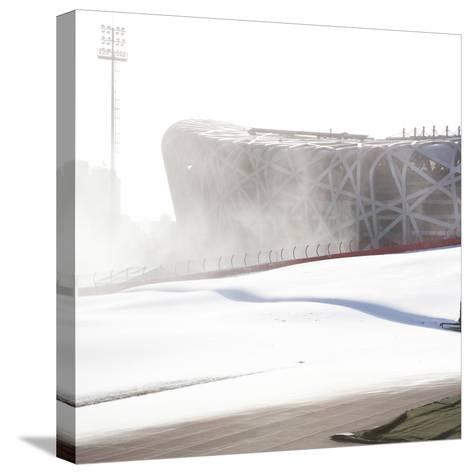 Beijing National Stadium, Beijing, China--Stretched Canvas Print