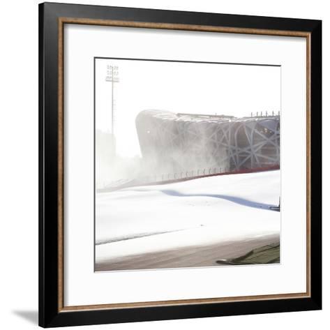 Beijing National Stadium, Beijing, China--Framed Art Print
