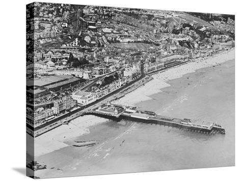 The Pier, Hastings, C.1925--Stretched Canvas Print