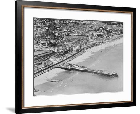 The Pier, Hastings, C.1925--Framed Art Print