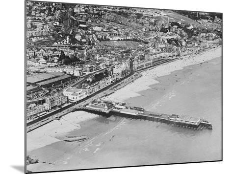 The Pier, Hastings, C.1925--Mounted Photographic Print