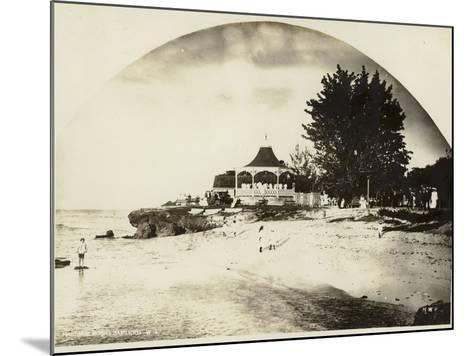 Hastings, Barbados, 1895--Mounted Photographic Print