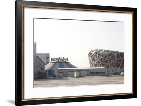 Beijing National Stadium, Beijing, China--Framed Art Print