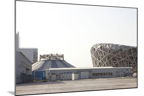 Beijing National Stadium, Beijing, China--Mounted Photographic Print