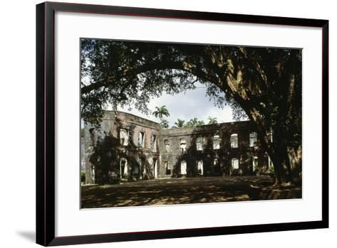 Ruins of Farley Hill House, Barbados--Framed Art Print